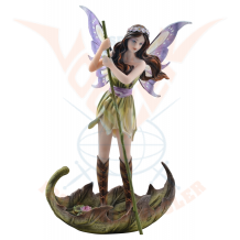 "Fairy ""Charona"" stands on a"