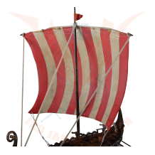 Viking ship - dragon head